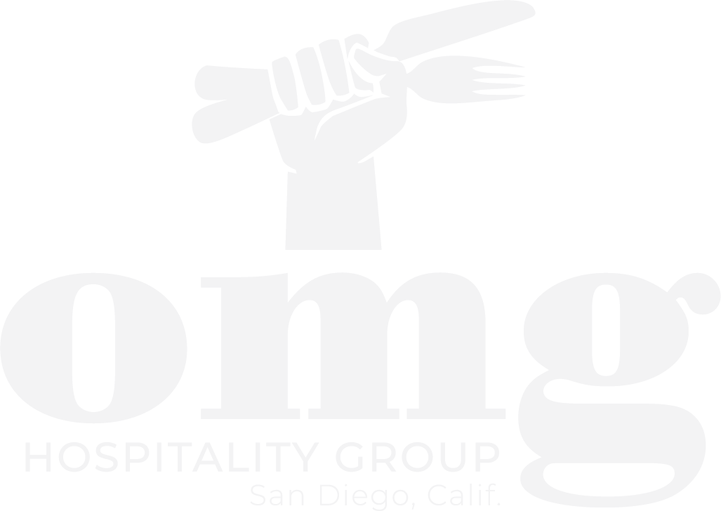 OMG hand logo